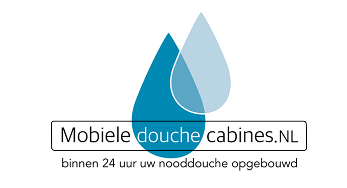 Homepage logo mobiele douchecabines